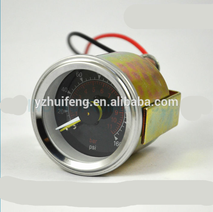 HF 0-11bar&psi Double Pointers Differential Pressure Gauge Air Pump